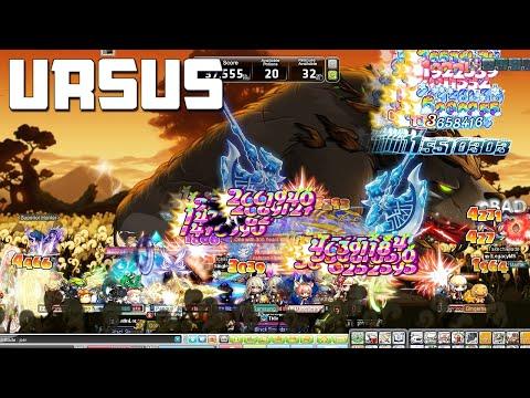 MapleStory : URSUS Boss Update