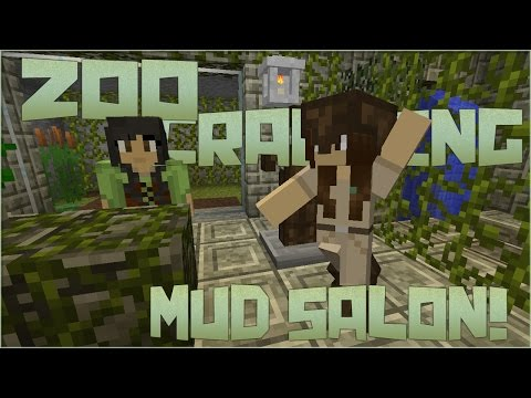 Zoo Crafting: Side Quest! Reptile House Mud Salon!