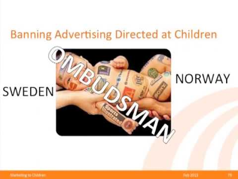 Marketing To Children Ban - Lessons Learned from Quebec's Experience