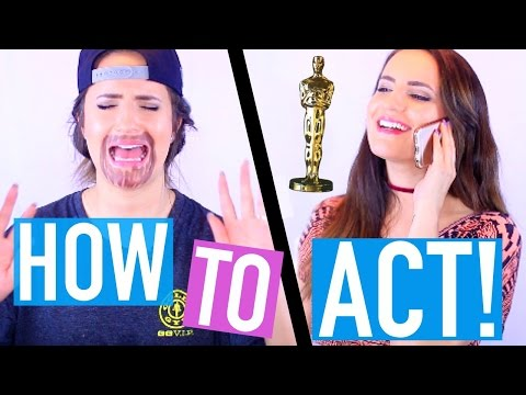 How To Be An Oscar-Winning Actor!! (3 Easy Steps)