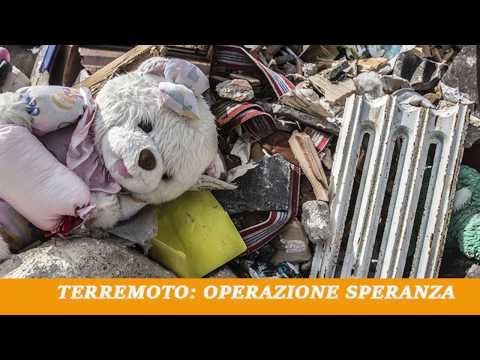 Conferenza stampa del progetto TERREMOTO: OPERAZIONE SPERANZA