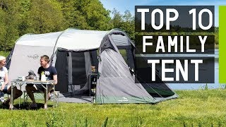 Top 10 Best Laŗge Family Camping Tents