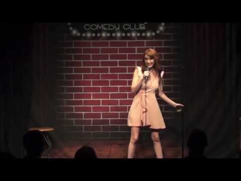Irena Murphy at Flappers Comedy Club. PFW Clip