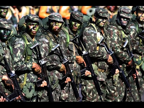 Brazilian Army - Hell March -