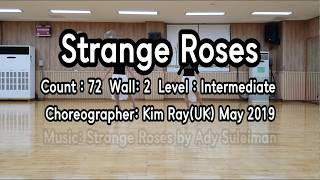 Strange Roses Linedance (Dance & Count) (사)한국라인댄스  LOVE💘ME Linedance