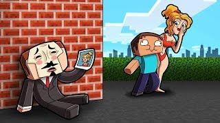 Minecraft - NOOB STEALS HACKERS FIRST GIRLFRIEND!