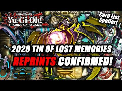 Yu-Gi-Oh! 2020 Tin of Lost Memories (Card List Spoiler) Reprints 100% Confirmed!