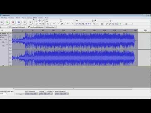 Flash Tutorial - Come Salvare in MP3 con Audacity