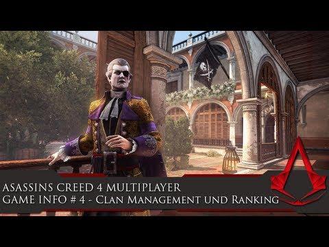 NEWS zu Assassins Creed 4 Multiplayer: Clan Management und Ranking