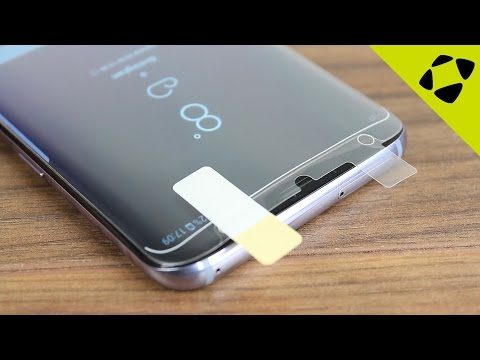 Official Samsung Galaxy S8 Plus Screen Protector Installation Guide & Review