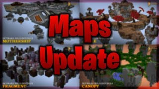 NEW MAPS AND RETURNING OLD MAPS  ( Minecraft Hypixel Skywars )