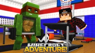 Minecraft Adventure - TINYTURTLE & LEWIS ARE FAT!