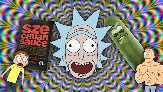 THE WEIRD WORLD OF RICK AND MORTY MEMES