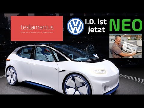 VW NEO - Erste Daten (AutoBild) - Meine persönlichen Eindrücke - Vergleich zu VW I.D. in Genf 4K