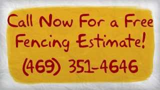 Dallas Fence Company | Call (469) 351-4646 For A Free Estimate