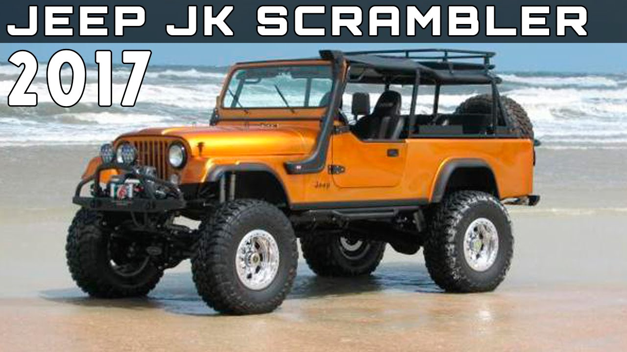 2017 Jeep Wrangler Pickup Price >> 2017 Jeep JK Scrambler Review Rendered Price Specs Release Date - YouTube