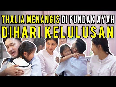 The Onsu Family - HARI KELULUSAN THALIA, SARWENDAH DAN RUBEN ONSU MENANGIS