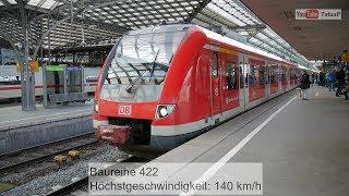 S-Bahn Baureihen der DB