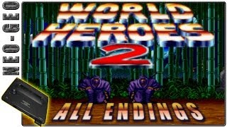 World Heroes 2 | All Endings | Arcade / Neo Geo Version