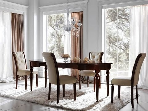 Leather Dining Chairs IKEA - YouTube