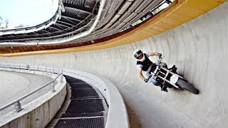 Bobsleigh on Motorcycle