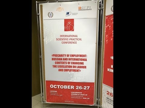 precarity and digitisation - it is not just about jobs. Moscow 10/2017