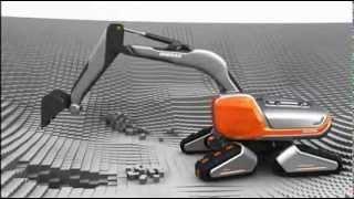 vuclip Doosan CX Eco Transformer, Concept Excavator, www.maskinia.se