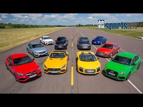 AMG vs Audi Sport : Mega-DUELL in allen Klassen ! - AUTO BILD SPORTSCARS