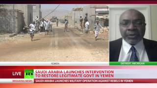 BREAKING: Saudi Arabia starts bombing Yemen