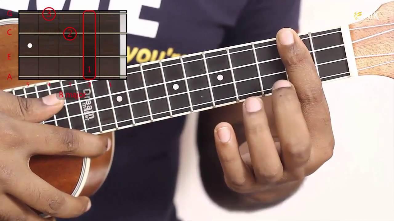 How to play b major ukulele easy chord ukulele lessons youtube how to play b major ukulele easy chord ukulele lessons hexwebz Gallery