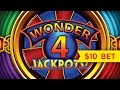 Wonder 4 Jackpots Slot  - Miss Kitty - Jackpot Handpay!