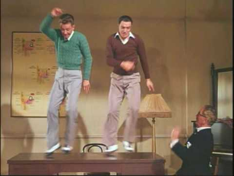 "Gene Kelly w/ ""Moses Supposes..."" from Singin' in the Rain - 1952"