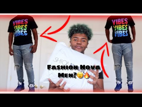 1st Clothing Haul: FashionNova Mens!🔥