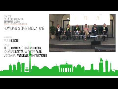 Charité Summit 2016 Panel How Open is Open Innovation?