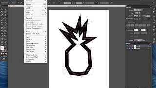 How to Add a Quarter Inch Seam Allowance to Shapes in Illustrator
