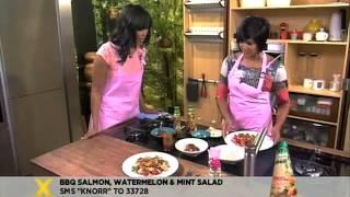 Knorr: Bbq Salmon, Watermelon And Mint Salad (19.10.2012)