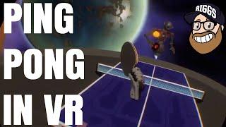 VR Ping Pong, but Fun - Racket Fury Table Tennis VR