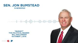 Sen. Bumstead discusses the state budget with Bill Ballenger