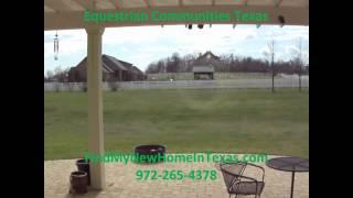 Equestrian Communities Texas | Saddle Brook Estates Exclusive Equestrian Community