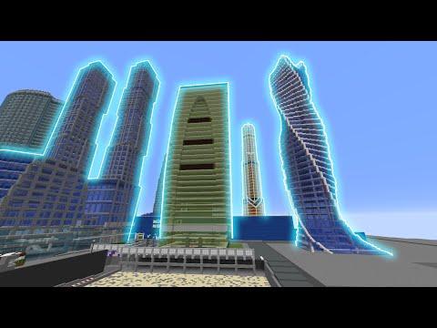 Minecraft - ПЕРВОЕ ВПЕЧАТЛЕНИЕ О НОВОЙ КАРТЕ - МОСКВА СИТИ - [ Карта Moscow City ] #6
