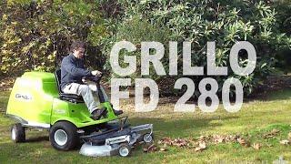 Grillo FD 280 - doskonała kosiarka, także do zbierania liści!