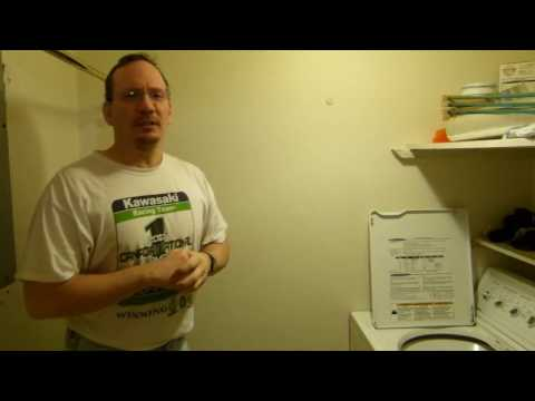 Home inspection: Laundry room