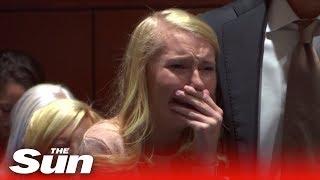 Cheerleader found not guilty of newborn's murder