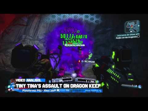 VIDEO ANALISIS: Borderlands 2 - Tiny Tina's Assault on Dragon Keep