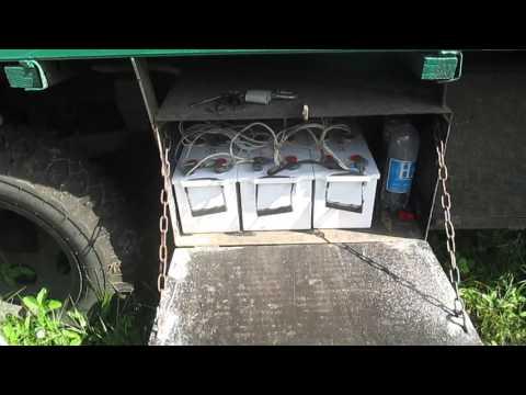Кочевая пасека.Электричество на пасеке.АКБ. 3-я часть.