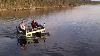 Homemade Electric Powered Catamaran