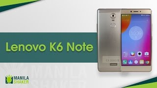 Lenovo K6 Note Full Review -