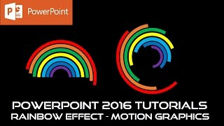 Mix Color Animated Loader in PowerPoint 2016 Tutorial For Beginners