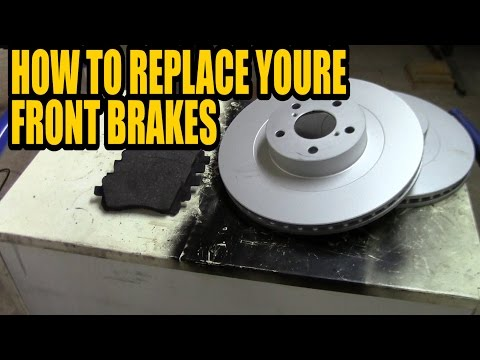 How to replace/upgrade youre front brakes on youre Subaru Legacy/Liberty/Forester/Outback
