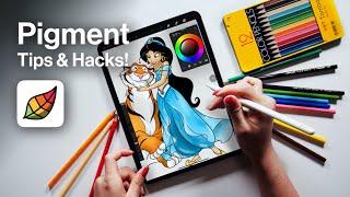 Pigment: Adult Coloring Book App on iPad !! screenshot 2